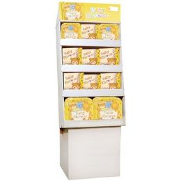 Baby Shower PrE-Packed Floor Shipper, 156 Ct. - Party Paper Goods