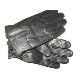 24 Units of Mens Leather Gloves - Leather Gloves