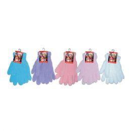 36 Units of Ladies Fuzzy Glove - Fuzzy Gloves