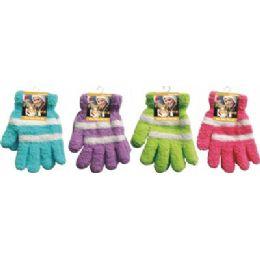 144 Units of Fuzzy Gloves - Fuzzy Gloves