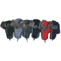 48 Units of Fashion Aviator Hat - Trapper Hats