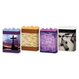 "144 Units of Faith 3 Asst. Jumbo 13"" x 18"" x 4"" - Gift Bags Assorted"