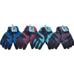 36 Units of Mens Heavy Duty Ski Glove - Ski Gloves