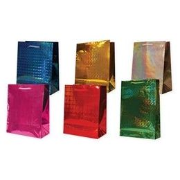 "72 Units of Holographic 6 Asst. X-Jumbo 16"" X 19.25"" X 7.5"" - Gift Bags Hologram"