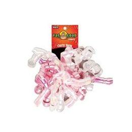 192 Units of Curled Ribbon Bow - Baby Girl, Pegable Single - Bows & Ribbons
