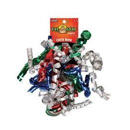 192 Units of Curled Ribbon Bow - Sparkles, Pegable Single - Bows & Ribbons