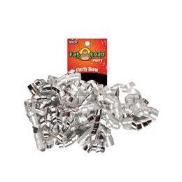 192 Units of Curled Ribbon Bow - Silvers, Pegable Single - Bows & Ribbons