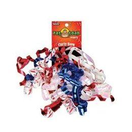 192 Units of Curled Ribbon Bow - Patriotic, Pegable Single - Bows & Ribbons