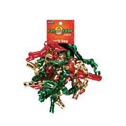 192 Units of Curled Ribbon Bow - Christmas, Pegable Single - Bows & Ribbons