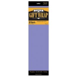 """144 Units of Tissue Paper Lavender - 10 Sheets per Pack, 20"""" x 26"""" Sheets - Gift Wrap"""