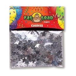 432 Units of Confetti-Silver Stars - 1/2 oz - Party Novelties