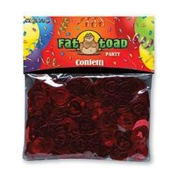 432 Units of Confetti-Red Hearts - 1/2 oz - Party Novelties