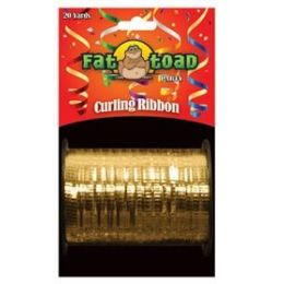 144 Units of Curling Ribbon - Gold - 20yds - Bows & Ribbons