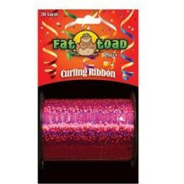 144 Units of Curling Ribbon - Fushia Sparkle - 20yds - Bows & Ribbons
