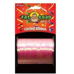144 Units of Curling Ribbon - Iridescent Pink - 20yds - Bows & Ribbons