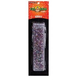 288 Units of Multicolored Glitter Tube - Craft Glue & Glitter