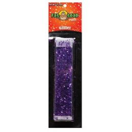 288 Units of Purple Glitter Tube - Craft Glue & Glitter