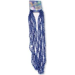 "120 Units of Festive Beads - 33"" Royal Blue - 6 CT - Party Favors"