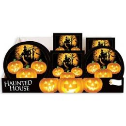 Haunted House PrE-Packed Counter Shipper, 96 Ct. - Halloween & Thanksgiving