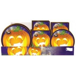Pumpkin Grins PrE-Packed Counter Shipper, 96 Ct. - Halloween & Thanksgiving