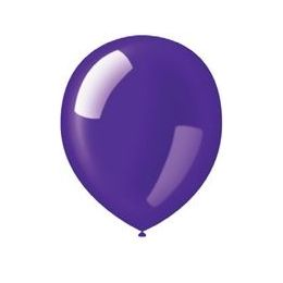 "40 Units of 72CT 12"" Deco-Deep Purple - Balloons & Balloon Holder"