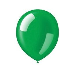 "40 Units of 72CT 12"" Deco-Emerald Green - Balloons & Balloon Holder"
