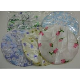 36 Units of 3pc Printed Shower Cap - Shower Caps