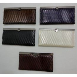 144 Units of 7.5x4 Expandable Ladies Wallet--Small Square - Wallets & Handbags