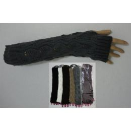 36 Units of Arm Warmer--Solid Color Knit - Arm & Leg Warmers