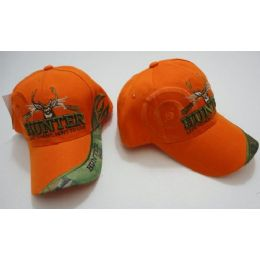 60 Units of Hunter HaT--Live To Hunt.hunt To Live [target Shadow]-Orange Only - Hunting Caps
