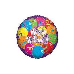 "100 Units of Mylar 18"" VLU DS - Birthday Lot of Balloons - Balloons/Balloon Holder"