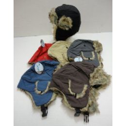 72 Units of Child's Bomber Hat--Solid Color - Junior / Kids Winter Hats