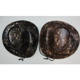 24 Units of Cowboy Hat-Faux Snakeskin - Cowboy & Boonie Hat
