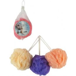 180 Units of Bath Elements Ruffle Body - Loofahs & Scrubbers