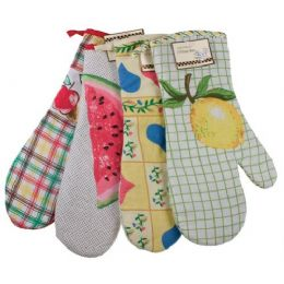 144 Units of Item# 715 Chef's Collection15 Oven Mitt - Oven Mits & Pot Holders