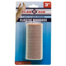 72 Units of 3 inch Elastic Bandage - First Aid and Bandages