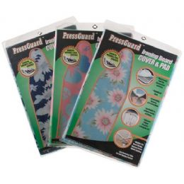 96 Units of Pressguard Printed Ironing Board Cover & Pad - Laundry  Supplies
