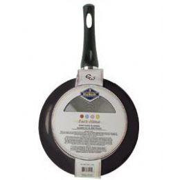 12 Units of Non Stick Fry Pans Black - Pots & Pans