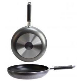 12 Units of Non Stick Speckled Fry Pans - Frying Pans and Baking Pans