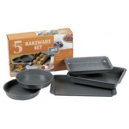 6 Units of 5 Piece Non Stick Bakeware Set - Baking Supplies