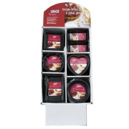 120 Units of Assorted Non Stick Bakeware On Display - Baking Supplies