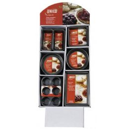 96 Units of Assorted Non Stick Bakeware On Display - Baking Supplies