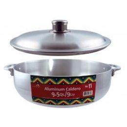 6 Units of Polished Aluminum Caldero Pots - Pots & Pans