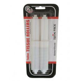 144 Units of 2 Pack Toilet Tissue Holder - Toilet Paper Holders