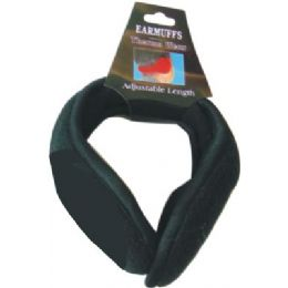 144 Units of Winter Ear Muff Black Only - Ear Warmers