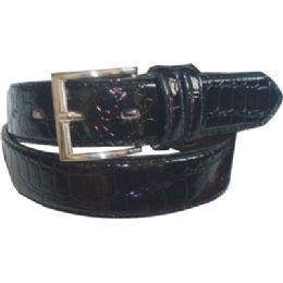 144 Units of Mens Belt Shiny - Mens Belts