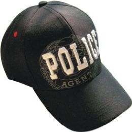 48 Units of Police Baseball Cap - Military Caps