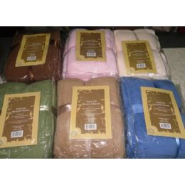 12 Units of Microplush Blanket Queen Size - Comforters & Bed Sets