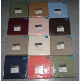 12 Units of Solid Micorfiber Sheet Set Full Size - Sheet Sets