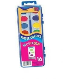 72 Units of Watercolor Washable Paint Set - Paint, Brushes & Finger Paint